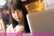 カフェナンパ 01 in 新宿 - りほ 20歳 女子大生(女子アナ志望)の画像