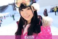 スキーナンパ 01 in 湯沢 - はるな 20歳 アイドル研修生の画像