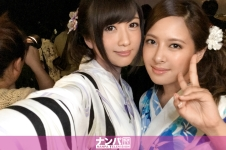 花火大会ナンパ 01 in 横浜 - ひびき 24歳 医療事務 なな 28歳 医療事務の画像