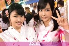 花火大会ナンパ 02 in 横浜 - すみか 21歳 大学生 めぐみ 22歳 大学生の画像