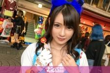 ハロウィンナンパ 05 in 原宿 - はるか 21歳 地下アイドルの画像