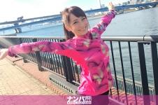 ジョギングナンパ 04 in お台場 - まお 22歳 アナウンススクール専門学生の画像
