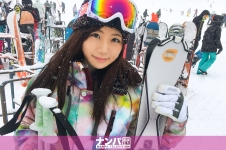 スキーナンパ 02 in 新潟 - れな 22歳 外国語スクールの事務員の画像