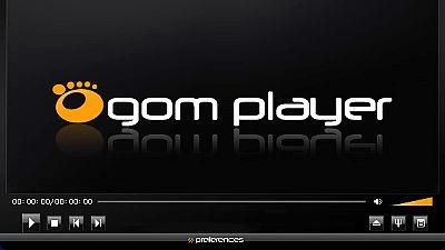 GOM Playerの画面スクショ